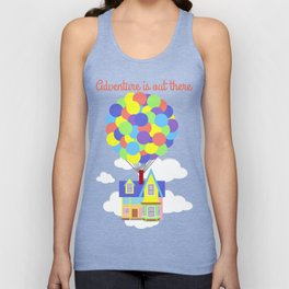 Adventure is Out There Unisex Tank Top