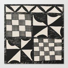 Tapa Cloth | Pacifica Patterns | Tribal Art Canvas Print