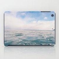 michigan iPad Cases featuring Lake Michigan by Pan Kelvin