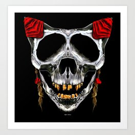 Red was my color Art Print