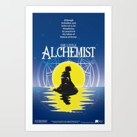fullmetal alchemist Art Prints featuring The Little Alchemist by Fancy Pants Artistry