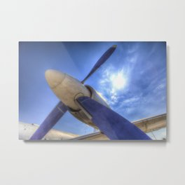 Ilyushin IL-18 Turbojet Engine Metal Print