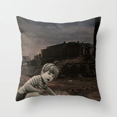 watch out for vandals Throw Pillow