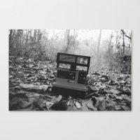 polaroid Canvas Prints featuring Polaroid by beabbyful