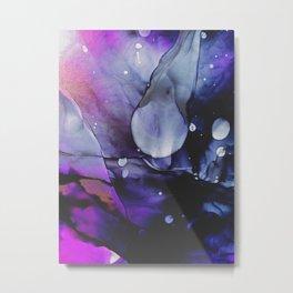 A Violet Gaze Metal Print