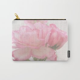 Gentleness - Soft Pink Rose #1 #decor #art #society6 Carry-All Pouch