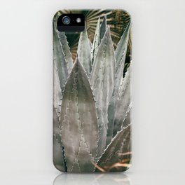 Deep Agave iPhone Case