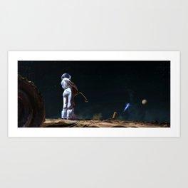Astro Nostalgy Art Print