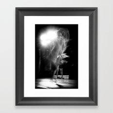 tango ballet dancer Framed Art Print