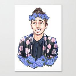 Flower Joseph Canvas Print