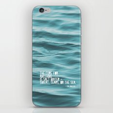 SaltWater Cure iPhone & iPod Skin
