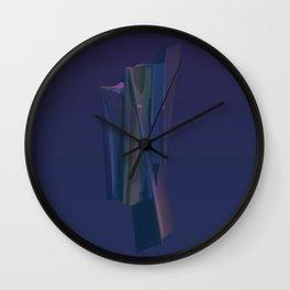 3D Sculptural Form Wall Clock