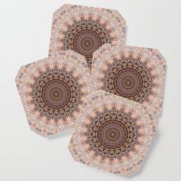 Mandala romantic pink Coaster