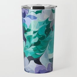 Analogous Blue hue - two Travel Mug