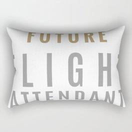 Future-Flight-Attendant Rectangular Pillow