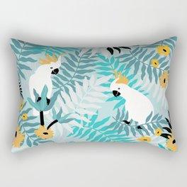 Playful Cockatoos  Rectangular Pillow