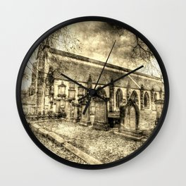 Greyfriars Kirk Edinburgh Vintage Wall Clock