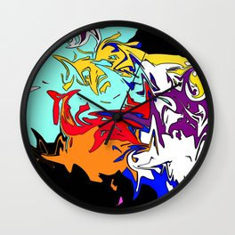 Over the Top Wall Clock