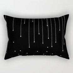 WHITE LITTLE RAIN Rectangular Pillow