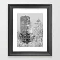 Firehall 1/2 Framed Art Print