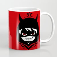 hetalia Mugs featuring Demon Pru by Jackce