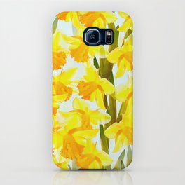 Spring Breeze With Yellow Flowers #decor #society6 #buyart iPhone Case