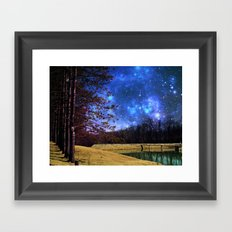 Reservoir Galactica  Framed Art Print