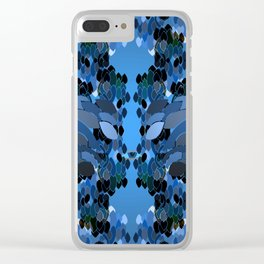 Eye Watch Over You Clear iPhone Case