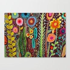 jardinage Canvas Print
