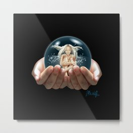 Safe Space Metal Print