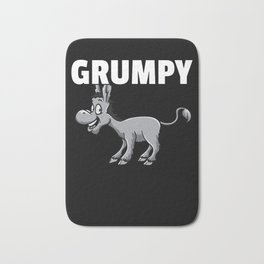 Donkey Funny Sweet Animal Love Bath Mat