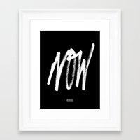 alt j Framed Art Prints featuring Now - Alt by ezekielclothing