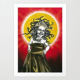 Baby Medusa Art Print