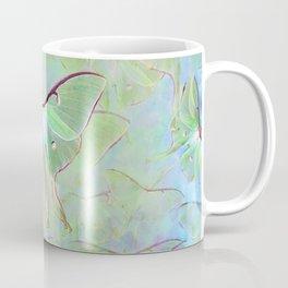 Glowing Luna Moth Coffee Mug