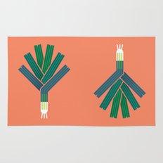 Vegetable: Leek Rug
