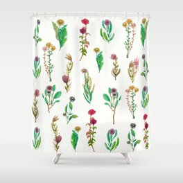 floweres for all Shower Curtain