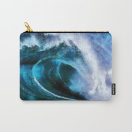 Rolling wave Carry-All Pouch