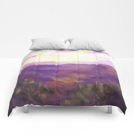 A Violet Landscape AC150625a Comforters