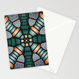 Neural network - Voronoi Stationery Cards