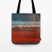 bubbles Tote Bags featuring bubbles by brenda erickson