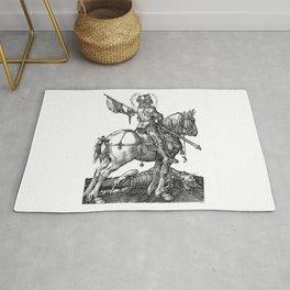 Saint George Horseback Rug