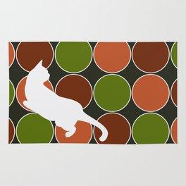 Playful Cat  Rug