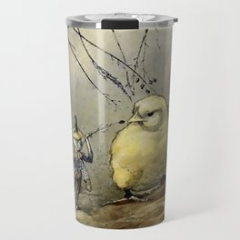 """""""Bother the Gnat"""" by Duncan Carse Travel Mug"""