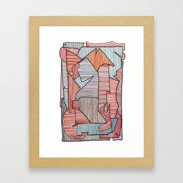 Bridget Riley Framed Art Print