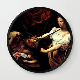 Judith Beheading Holofernes Wall Clock