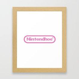 Nintendhoe Framed Art Print