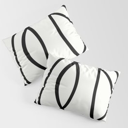 Community - Black and white abstract Pillow Sham
