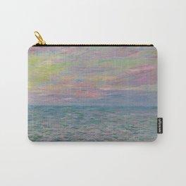 """Claude Monet """"Coucher de soleil à Pourville, pleine mer"""" Carry-All Pouch"""