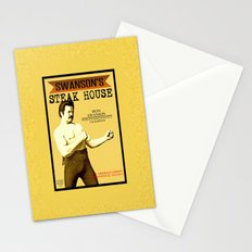 Ron Swanson  |  Steak House Parody |  Parks and Recreation Stationery Cards