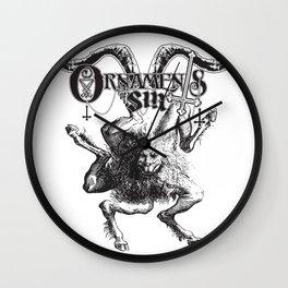 Buer Goetic Demon Wall Clock